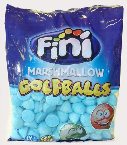 FINI BLUE RASPBERRY GOLF BALL MALLOWS